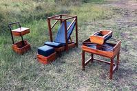 Photo of three new furniture prototypes