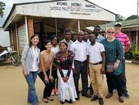 Photo of Prof. Yuehwern Yih & Save the Children group in Malawi