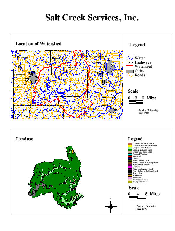 Indiana Public Water Supply System Watersheds