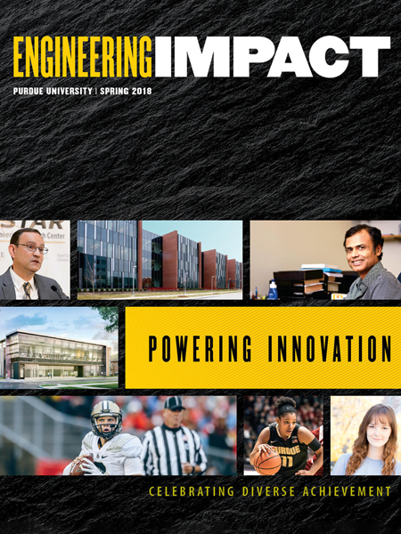 Engineering IMPACT: Spring 2018 cover