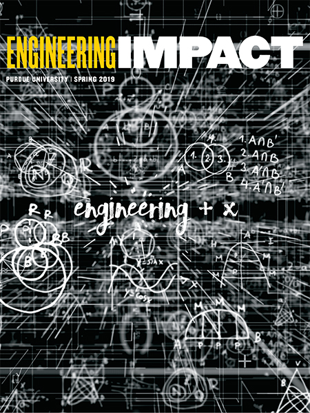 Engineering IMPACT: Spring 2019 cover