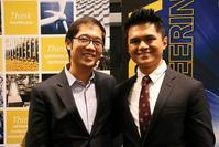 Photo of Denny Yu and Fajar Ausri