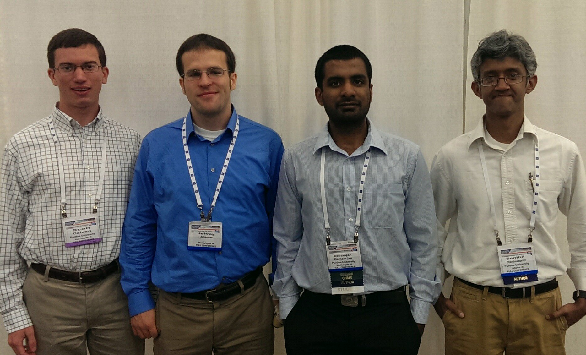 Purdue Students win ASME IDETC/CIE 2014 Student Design Competition