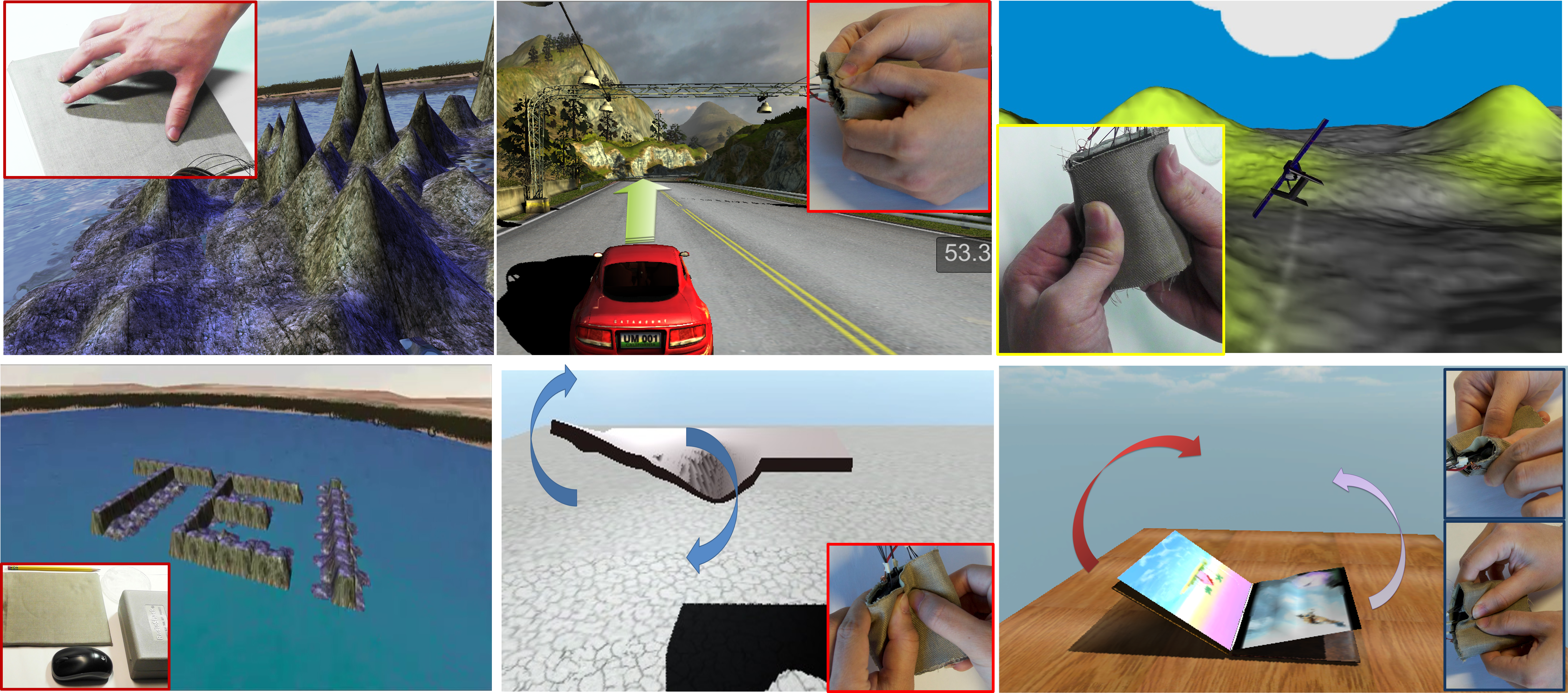 SOFTii: Soft Tangible Interface for Continuous Control of Virtual Objects with Pressure-based Input