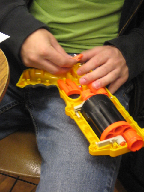 NERF Blaster Dissections