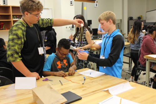 Toy Design Lab in Mechanical Engineering: GERI 2015 Summer Outreach Program