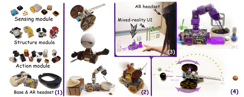 Ani-Bot: A Mixed-Reality Ready Modular Robotics System