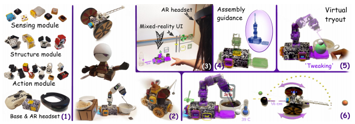 Ani-Bot: A Modular Robotics System Supporting Creation, Tweaking, and Usage with Mixed-Reality Interactions