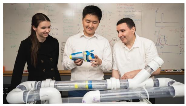 Alumni Success Story – You Wu – Robot Daisy and Pipe Leak Detection