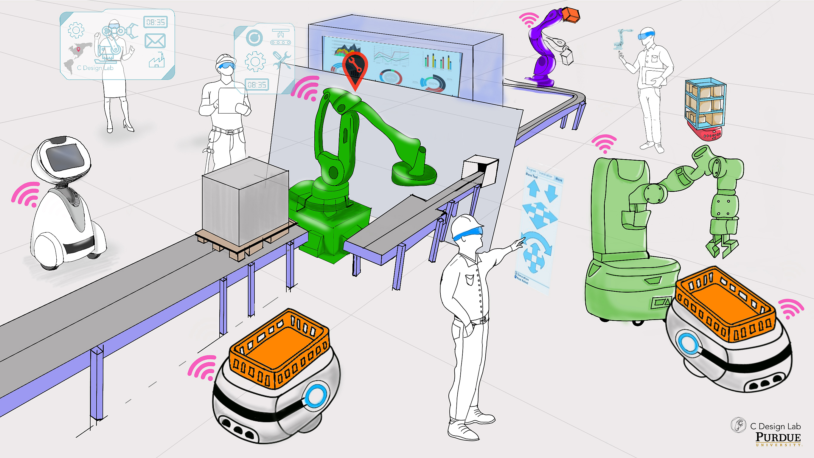 Convergence Design Lab to prepare manufacturers, workers for the 'factory of the future'