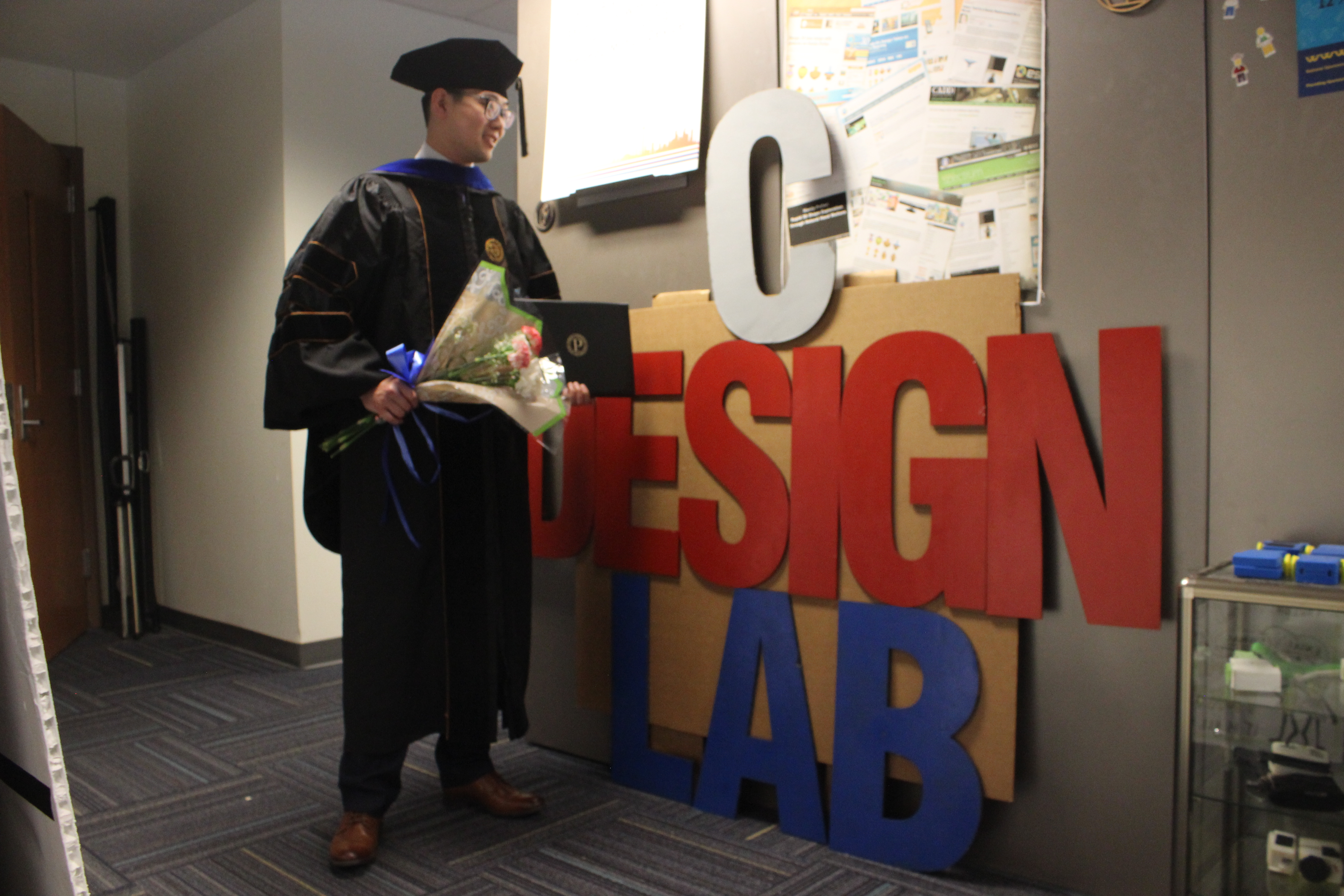 Congratulations to Dr. Ke Huo for receiving his PhD degree in Mechanical Engineering!