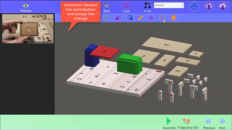 Hands-on with augmented reality in remote classrooms