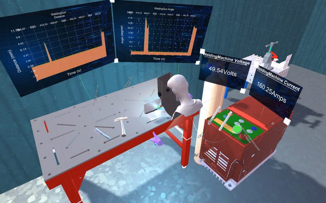 SkillXR:  Augmented reality to provide new skills for manufacturing workforce education