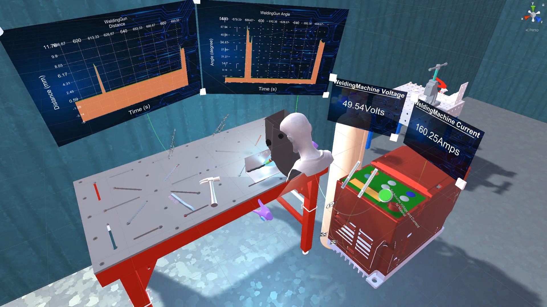 SkillXR Welding Application