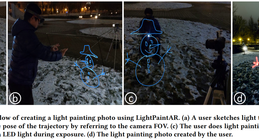 LightPaintAR: Assist Light Painting Photography with Augmented Reality