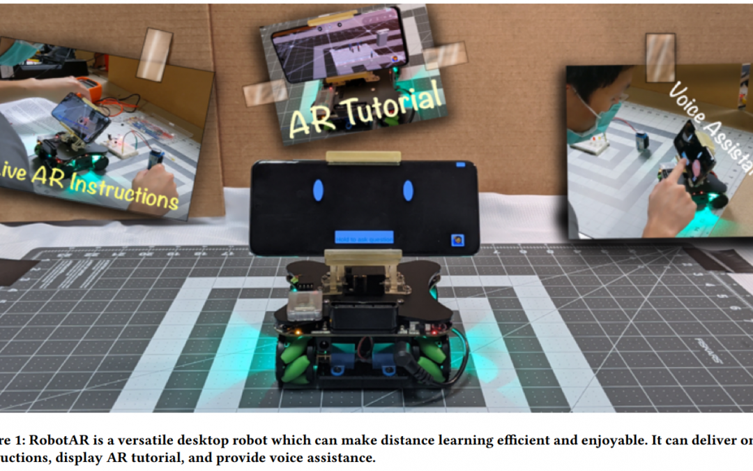 RobotAR: An Augmented Reality Compatible Teleconsulting Robotics Toolkit for Augmented Makerspace Experiences