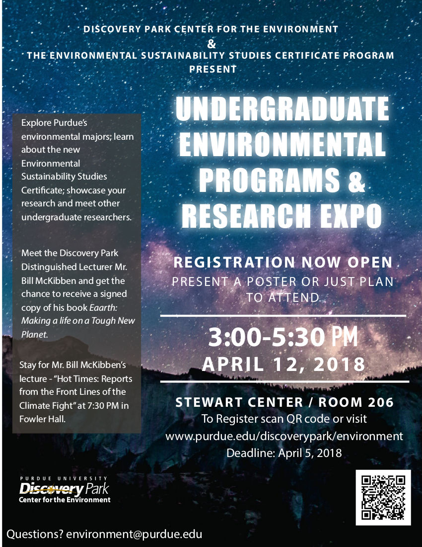 Events - Center for the Environment - Purdue University