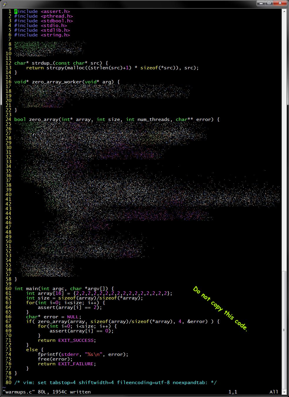 Advanced C Programming :: HW14