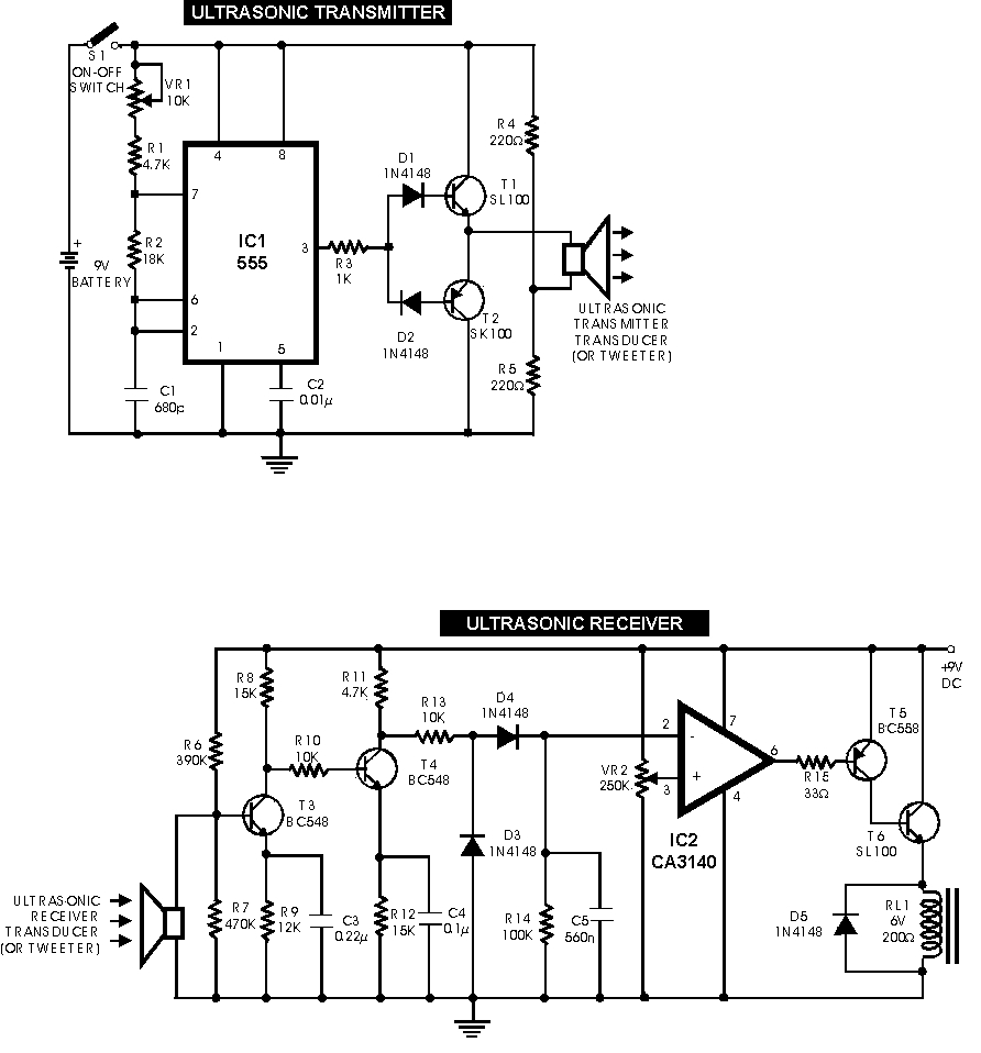 Notebook 12w Amplifier Circuit Using 741 Op Amp Diagram We Failed In Both These Experiments As Well The Ir Sensors To Trip When Obstacles Were Presented Them And Receiver