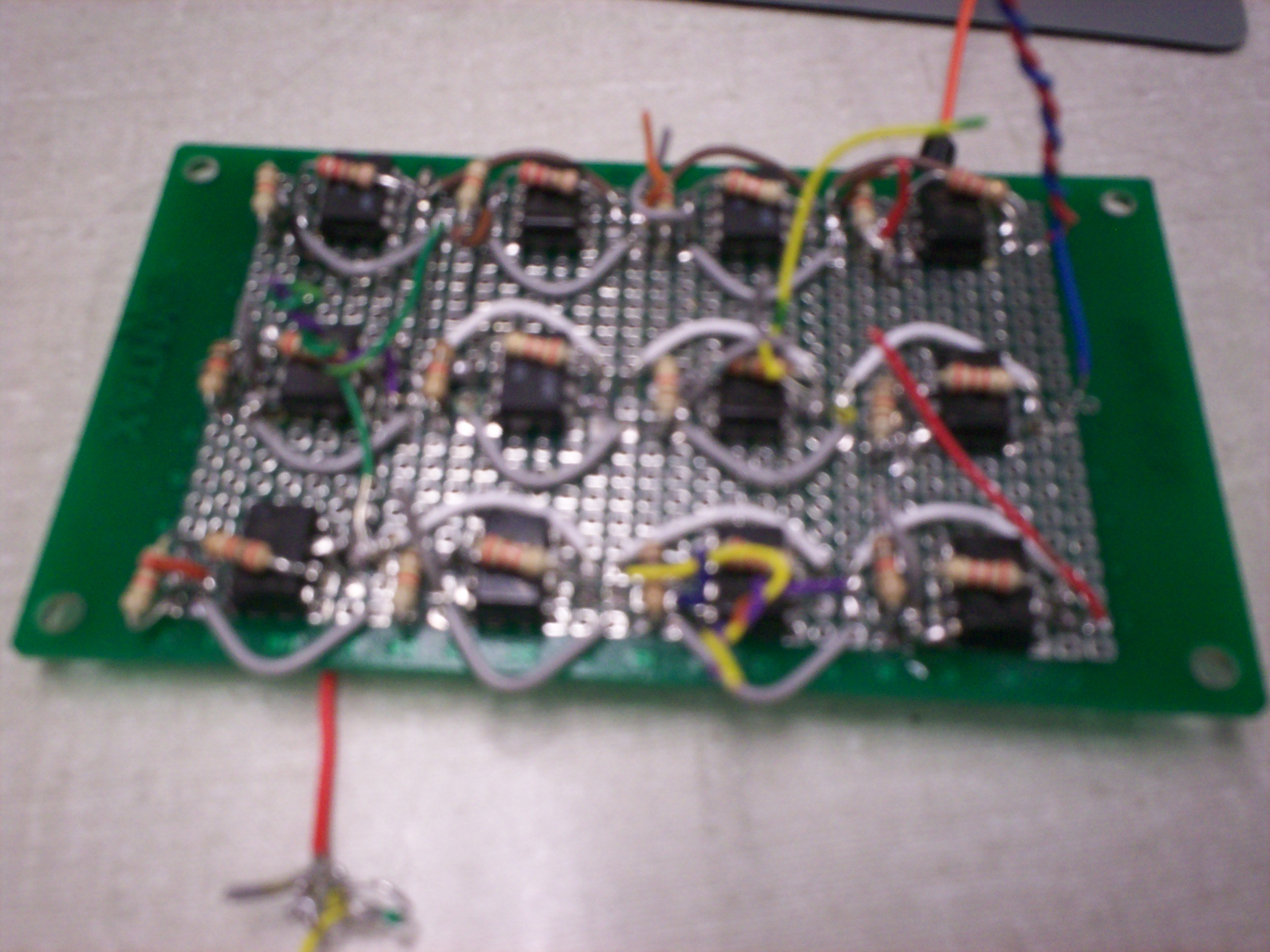 Christopher Poluski Lab Notebook Op Amp Inverting Buffer With Opamps Electrical Engineering Stack Result In 4 Broken Amps I Will Need To Better Check For Pins That Not Conected Or Potential Shorts The Board Tomorrow Here Is Array