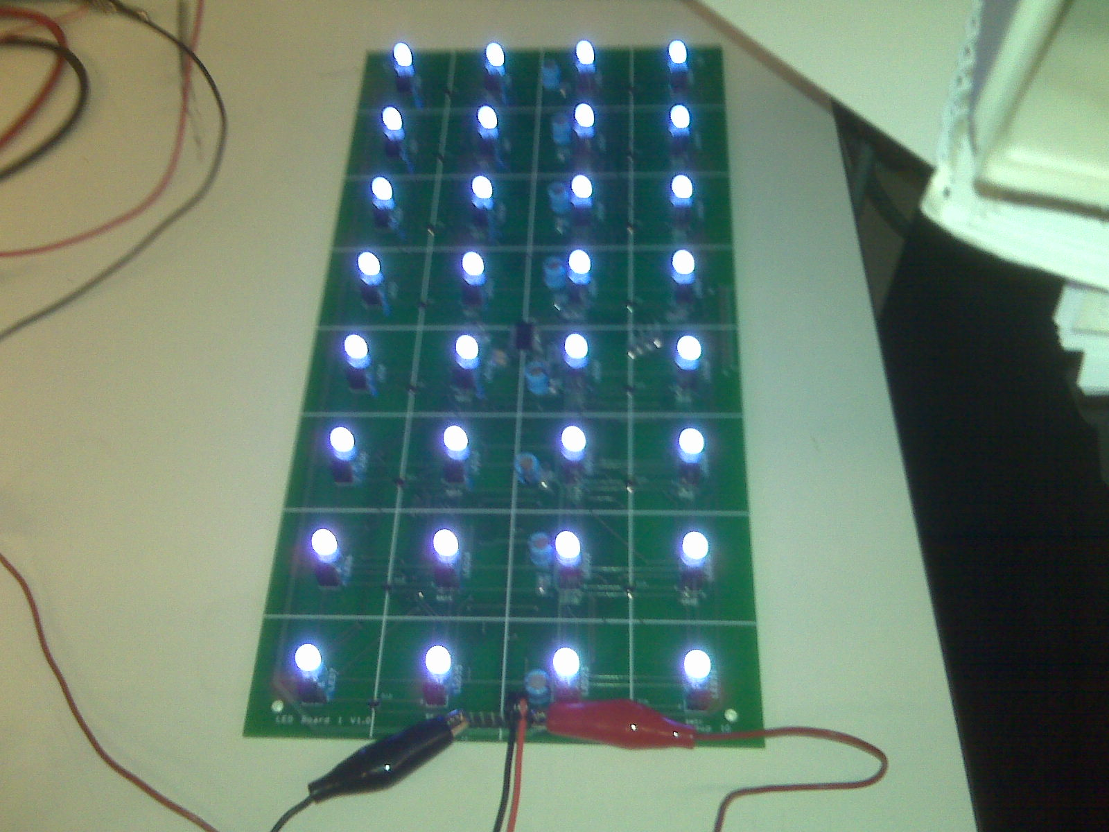 Scott Shaws Lab Notebook Reed Switches Supplierintegrated Circuit Distributorreed Led Switch Board 1 Leds On