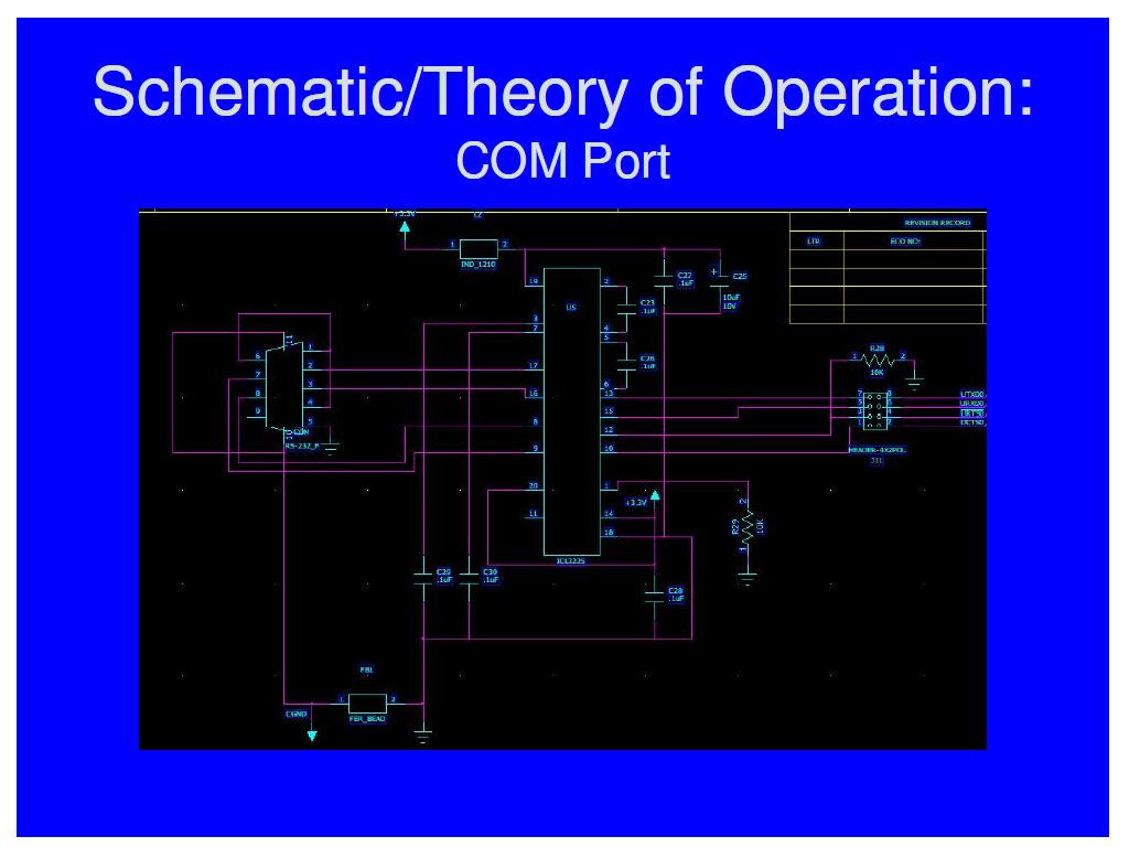 Team7 232 Serial Port Circuit Diagram Amplifiercircuit Ppt9