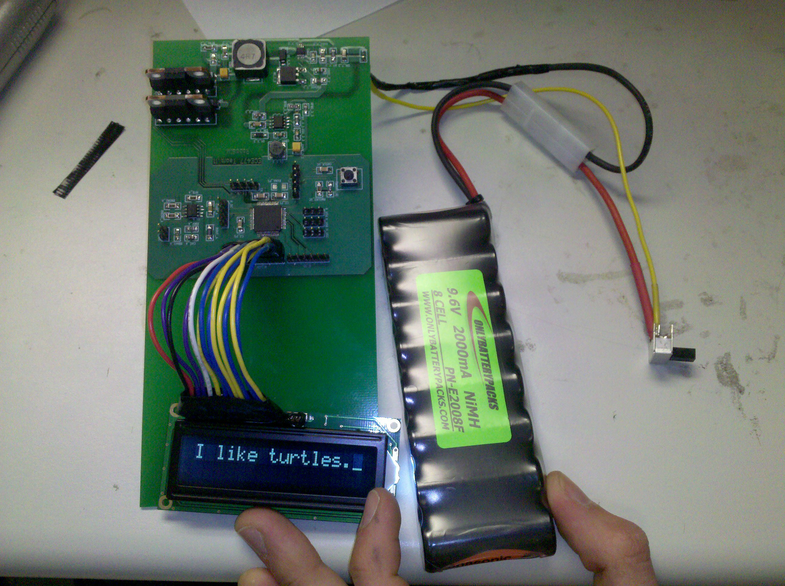 Ryan Taylors Lab Notebook How To Read Electronic Circuit Diagrams Tab Hobby Electronics Series Finally On Battery Power