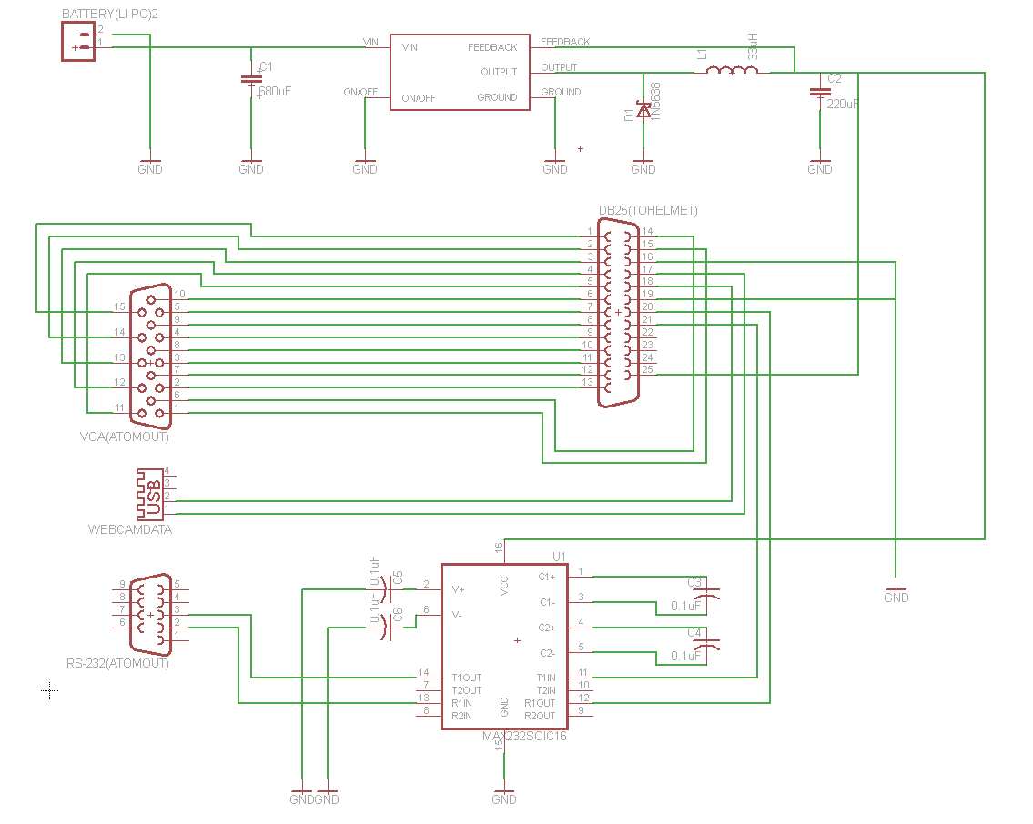 Aditya Balasubramanians Notebook Generated Using Eagle Schematic Software The Formatted Prelim For Backpack Pcb