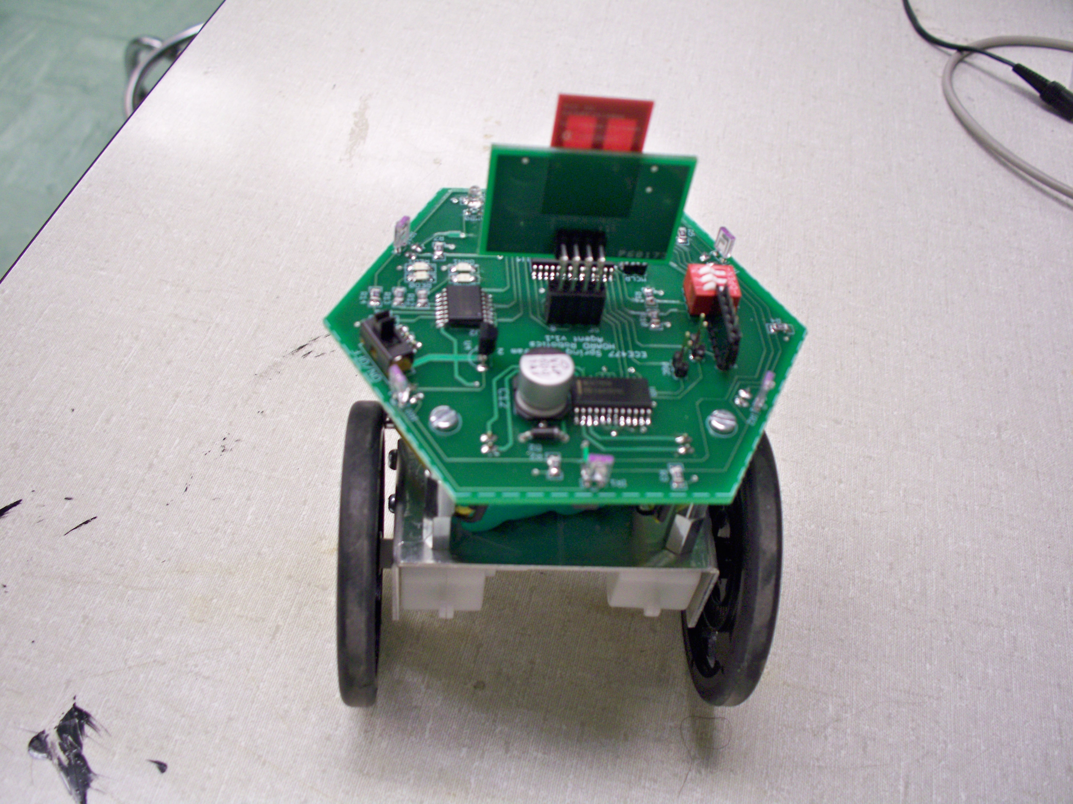 Trentons Lab Notebook Controller Determine The Circuit For Ambient Light Sensor Week 8 And Sensors To Design Built A Setup Test Robots Ability Detect Avoid Objects Demonstration Video