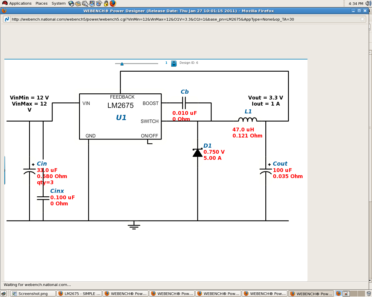 Sebastians Lab Notebook And Built The Circuit As Shown Using An Lm317 Voltage Regulator Week 05