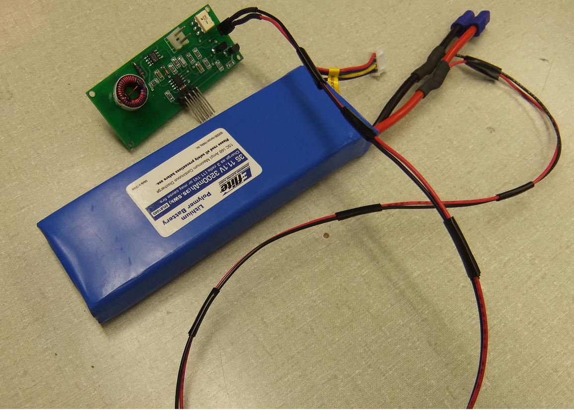 Joes Lab Notebook Microcontrollerbased Battery Monitor For Rc Aircraft Circuit Cellar And A Capacitor Associated With The Ic Leads Were Soldered To Power Regulator Circuitry An Image Is Shown Below