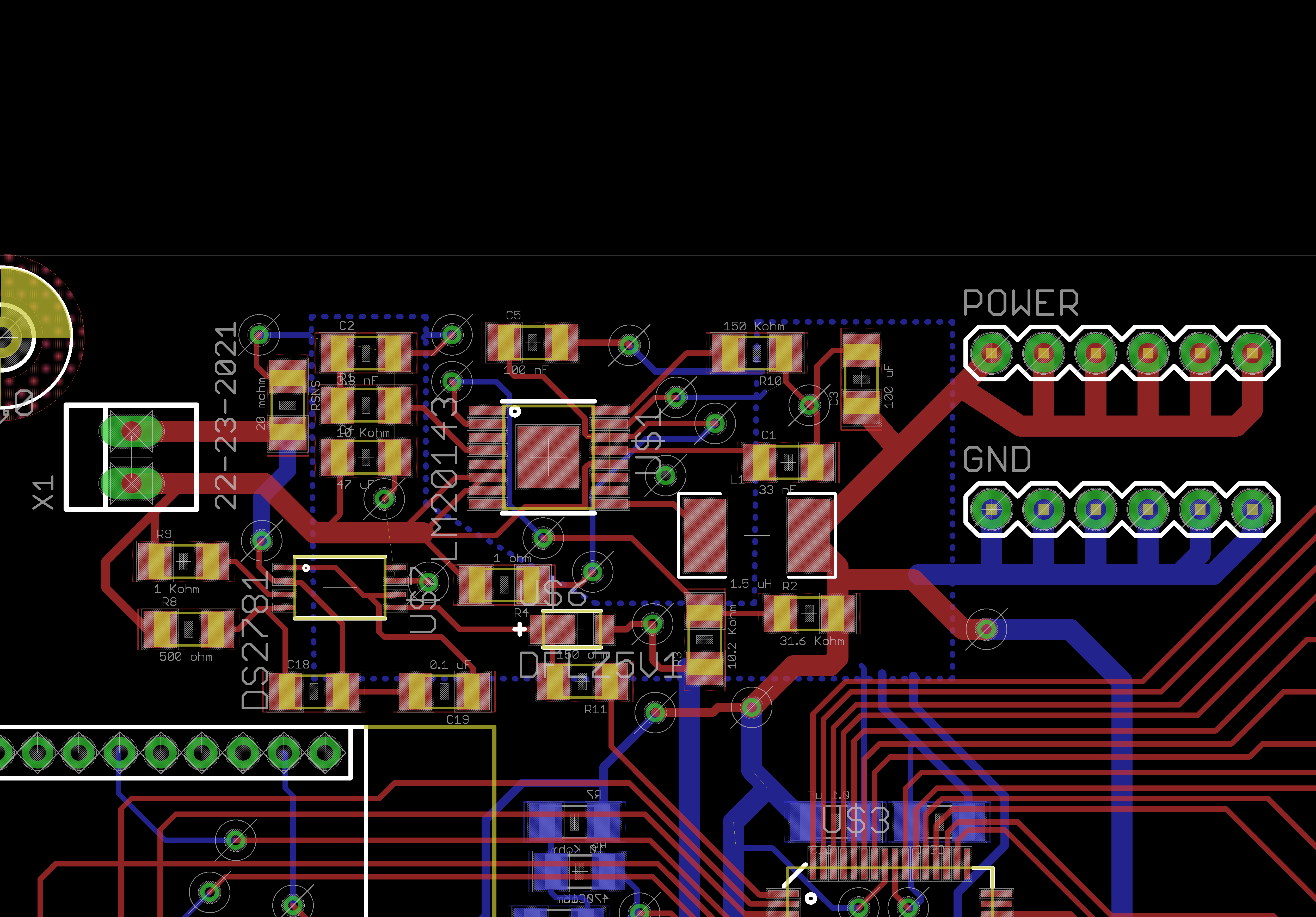 Sriharshs Notebook Interfacing Tripleaxis Accelerometer With Atmega 16 Circuit Diagram Also Changed The Headers To Ones From Sparkfun Lbr Mxx And Made A Dedicated Power Ground Images Below Show Various Areas Of