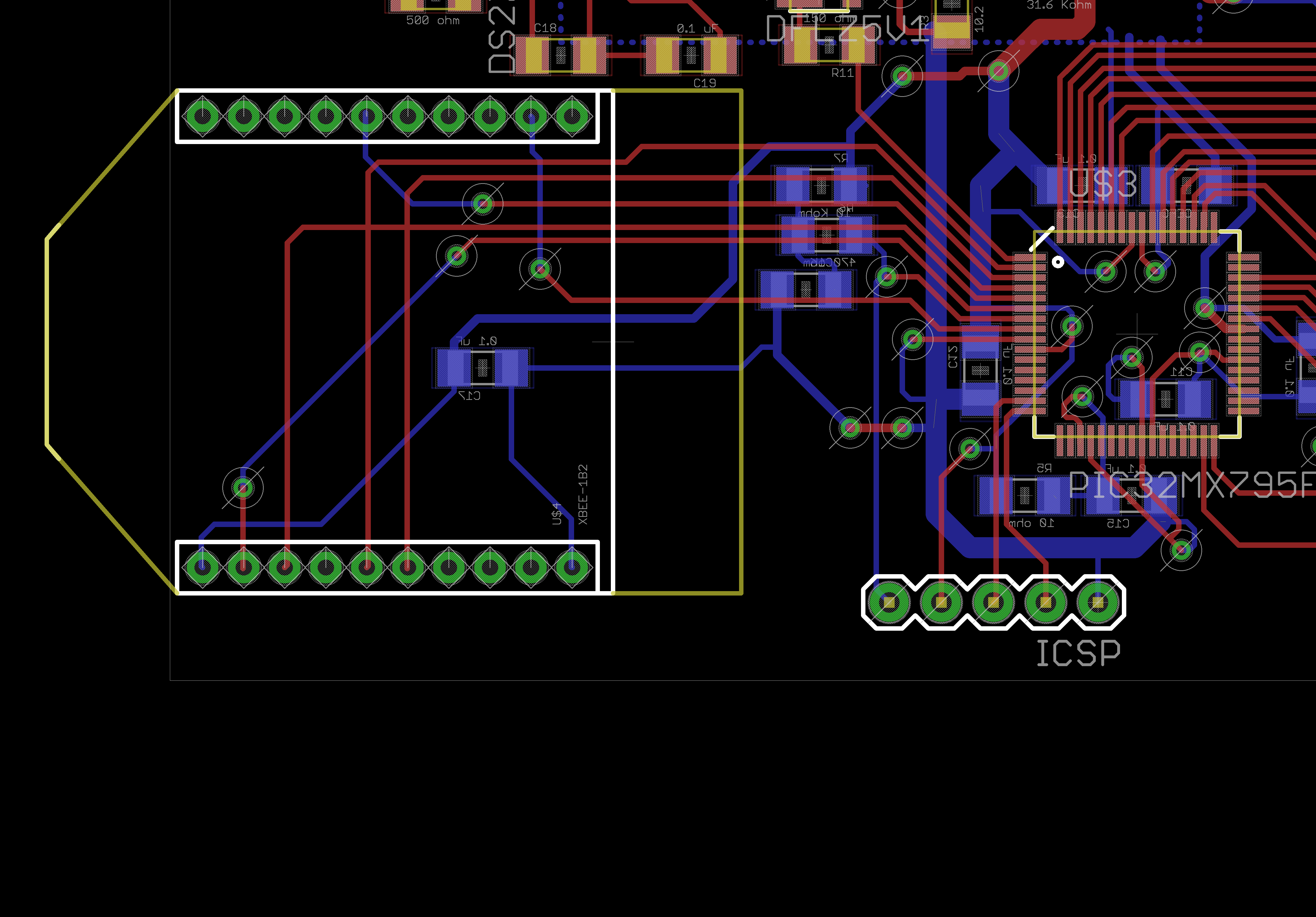 Sriharshs Notebook Interfacing Tripleaxis Accelerometer With Atmega 16 Circuit Diagram Xbee Section