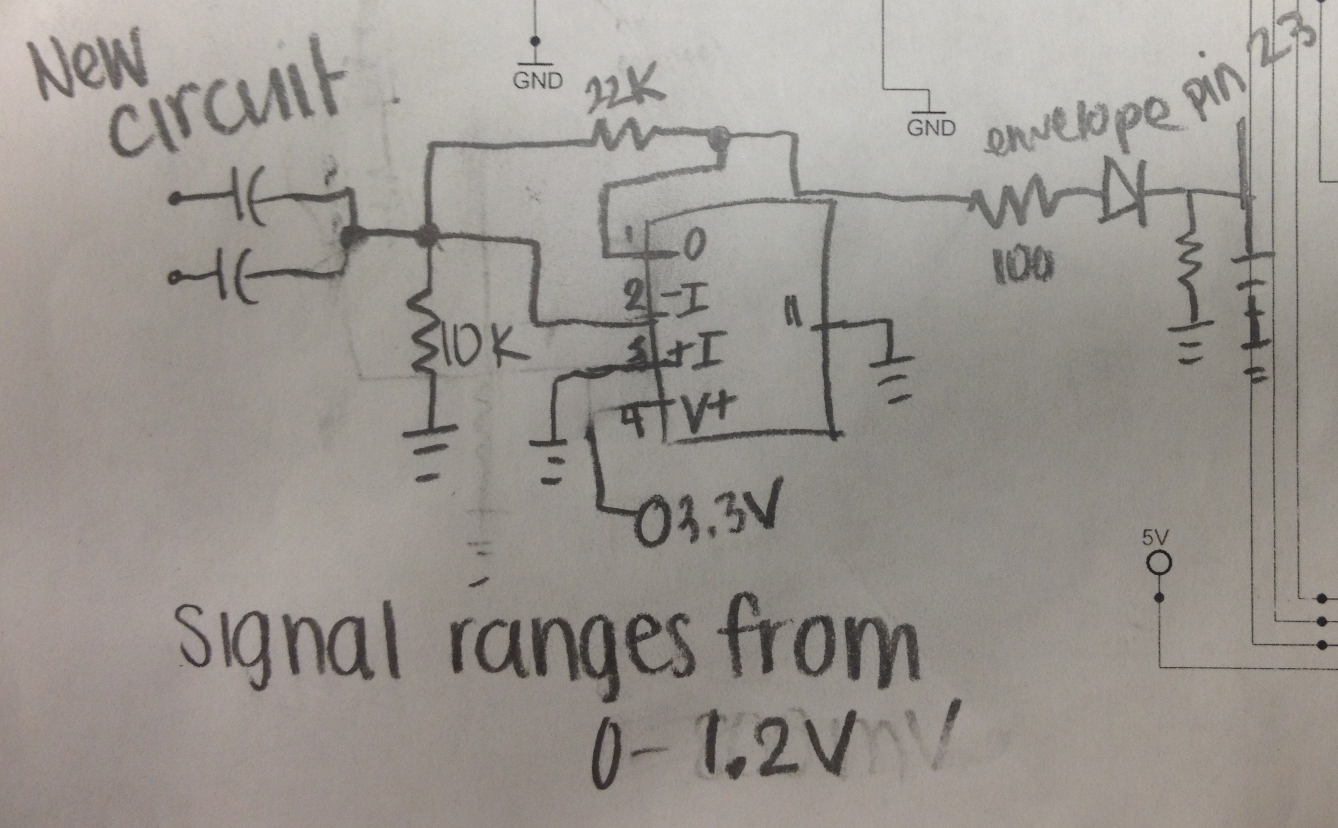 Courtney Laubachs Lab Notebook Eagle Schematic Capture Radio Button Circuit Flickr Photo Sharing This Gave A Voltage Range From 0 To About 12v Of The Signal Audio New And Output Is Depicted Below