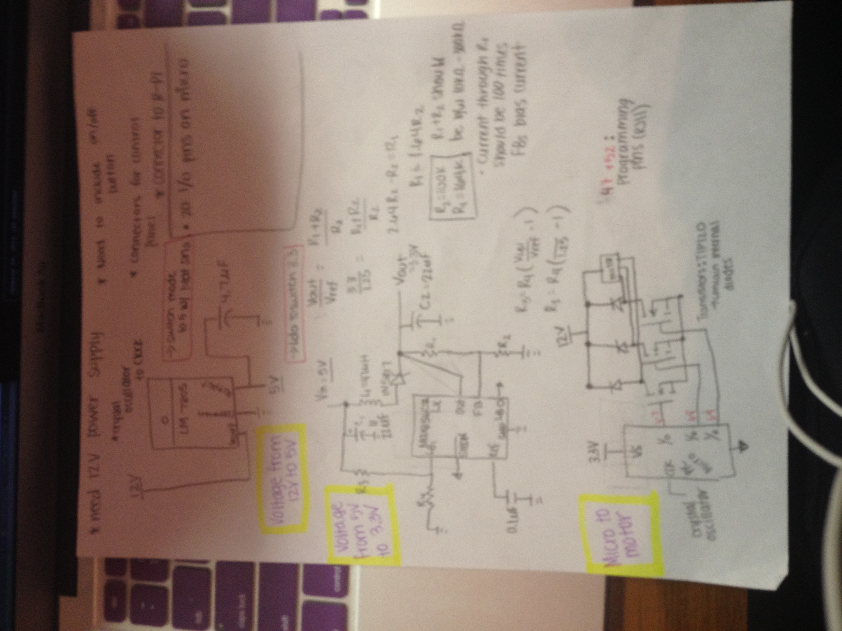 Courtney Laubachs Lab Notebook Envelope Detector One Circuit A Week Of The Biggest Problems Was Faced How To Get That All Supplied Parts Correcty Including Using 12v Power Supply Schematic Is Drawn