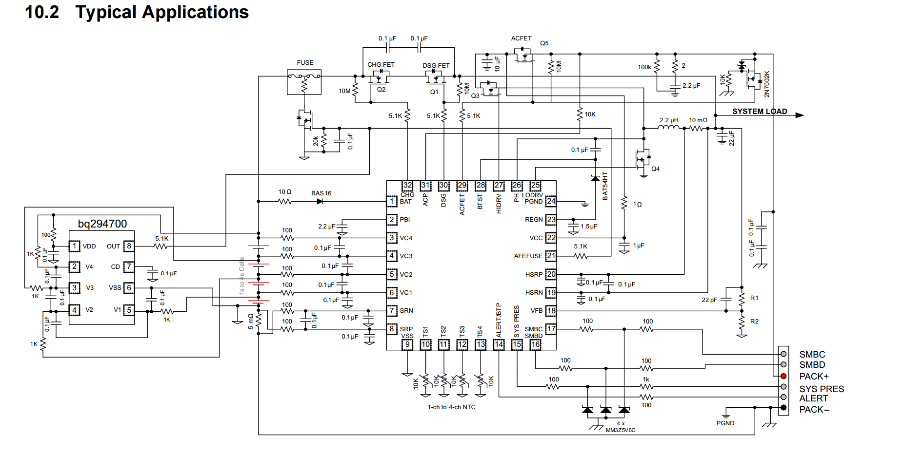 Ece477 Course Documents Arm Cortex Besides Fuse Box Diagram On Gas Detector Block The Typical Applications Circuit Found In Bmu Datasheet This Was Main Reference For Circuits Schematic Above