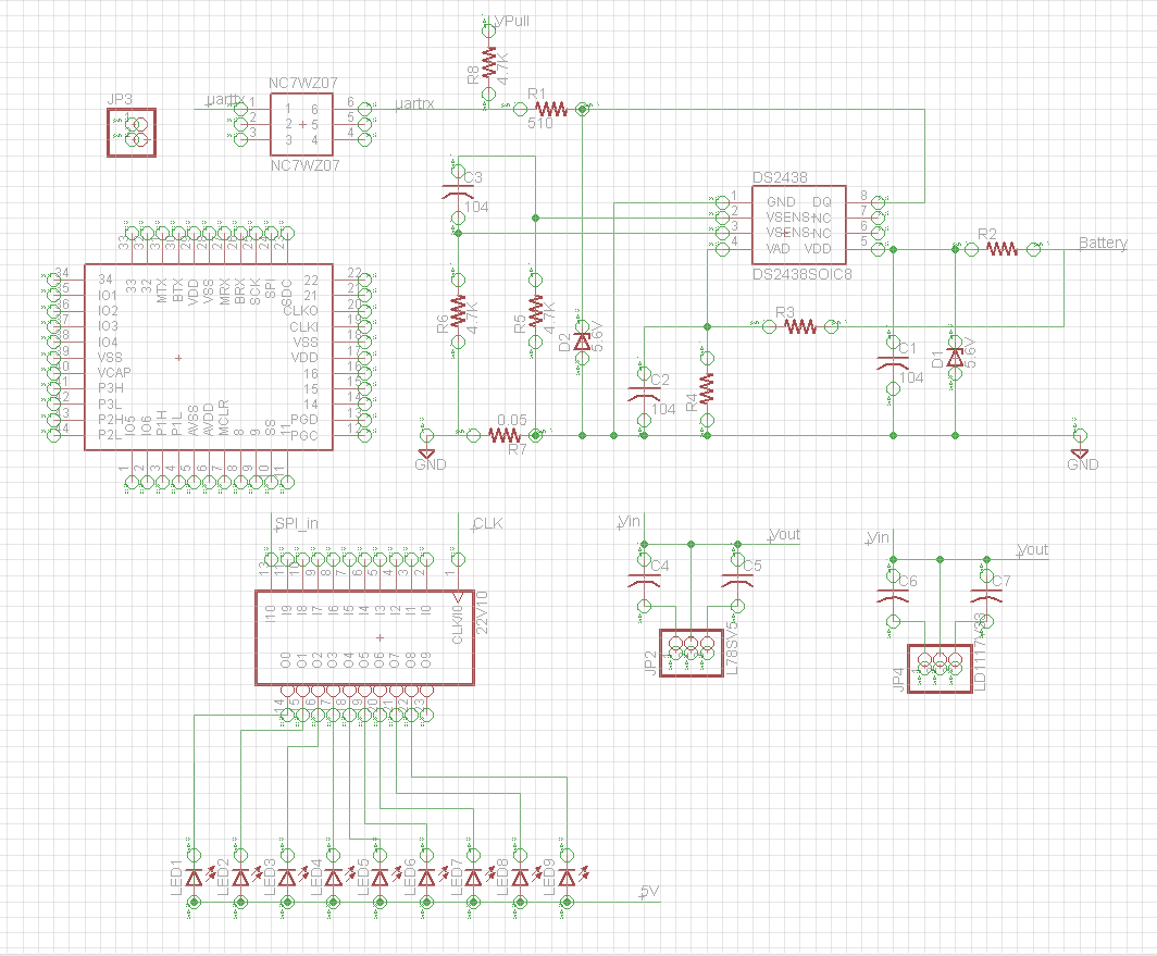 Ece477 Course Documents Home Images Pi Shift Register Circuit Png 5v Voltage Regulator And With Leds The H Bridge Bluetooth Part Of Pcb Schematic Should Be Finished By My Teammates