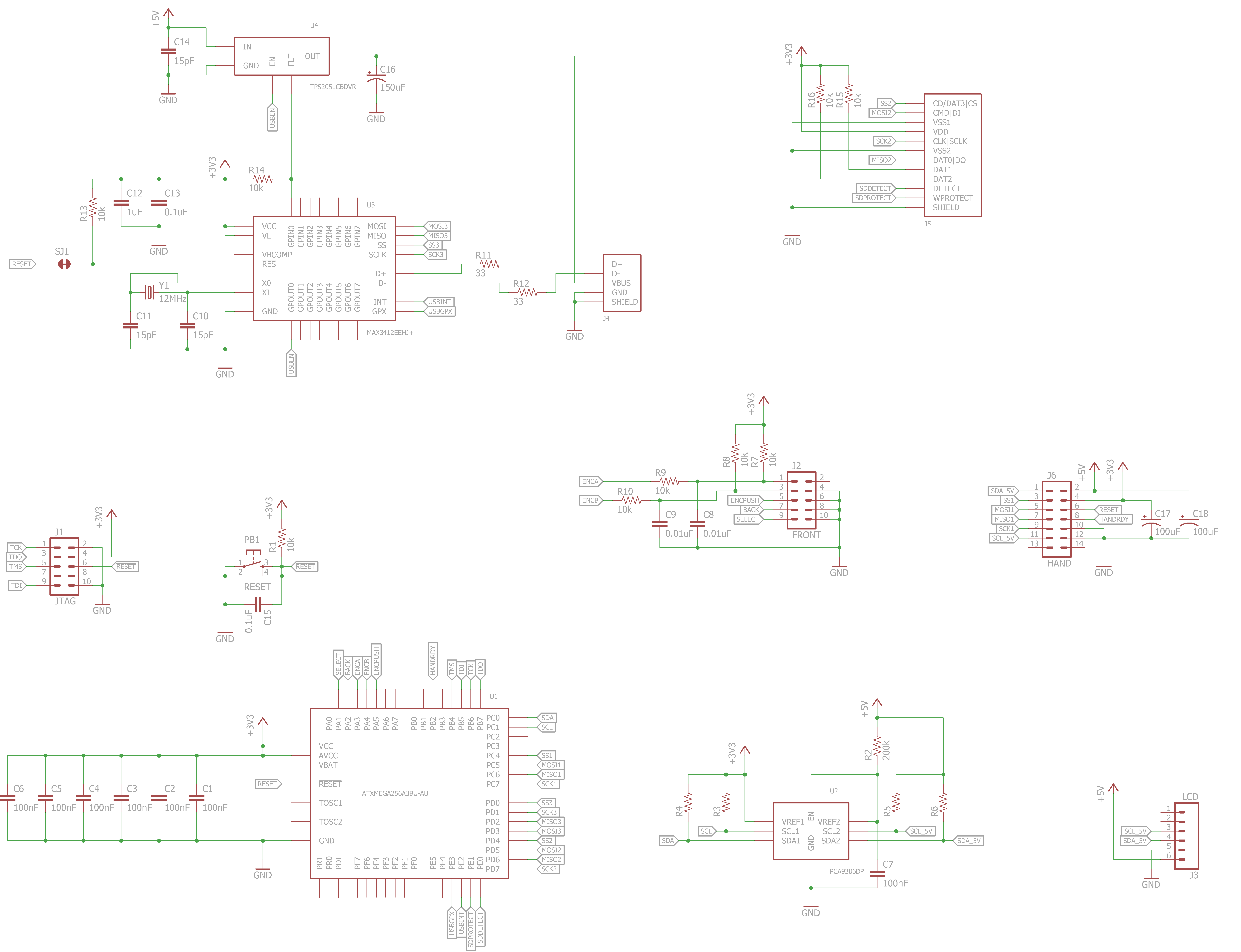 Ece477 Course Documents The Four Circuits I Put On Board Of Used 001uf Not Figure 62 Master Pcb Schematic