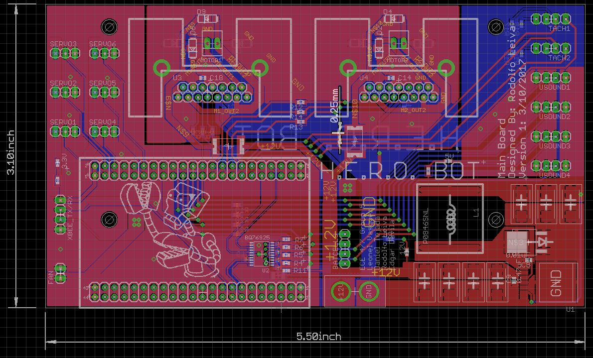 Ece477 Course Documents How To Create A Printed Circuit Board Pcbsection 1 On More Positive Note We Found Could Extend The Size Of Bit Re Accommodate All Parts I Had Move Around