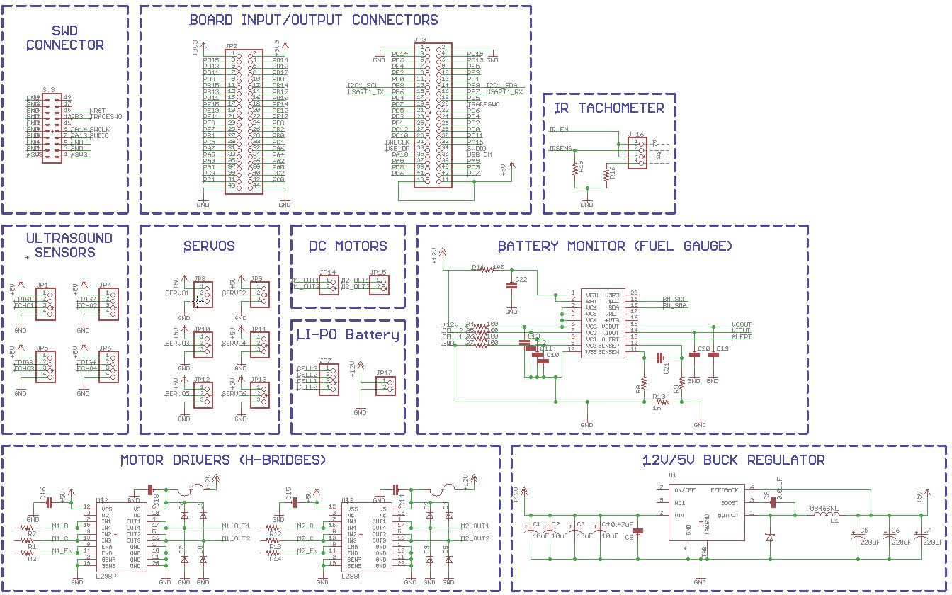 Ece477 Course Documents As Directed In The Diagram Circuit Requires A Couple Of 1uf If I Dont Arrange Parts Buck Regulator Just Right It Might Cause Switching Noise Interfearing With Data Or Power Electronics And