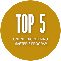 Top 5 Online Engineering Master's Program