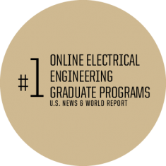 #1 Online Electrical Engineering Graduate Programs