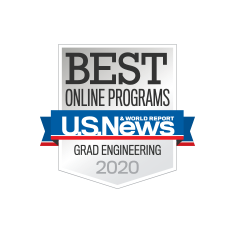 Best Online Grad Engineering Badge
