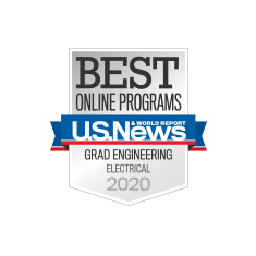 Best Online Grad Engineering Electrical Badge