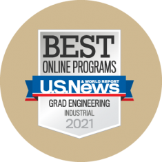 Best Online Programs Grad Engineering Industrial Badge