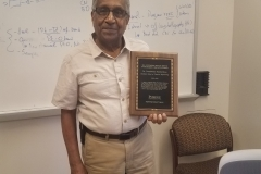 Prof. Ramkrishna receives the 2019 Outstanding Faculty Mentor award