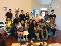 Photo of uSMART Lab graduation party