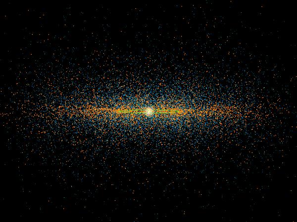 voss model asteroid belt