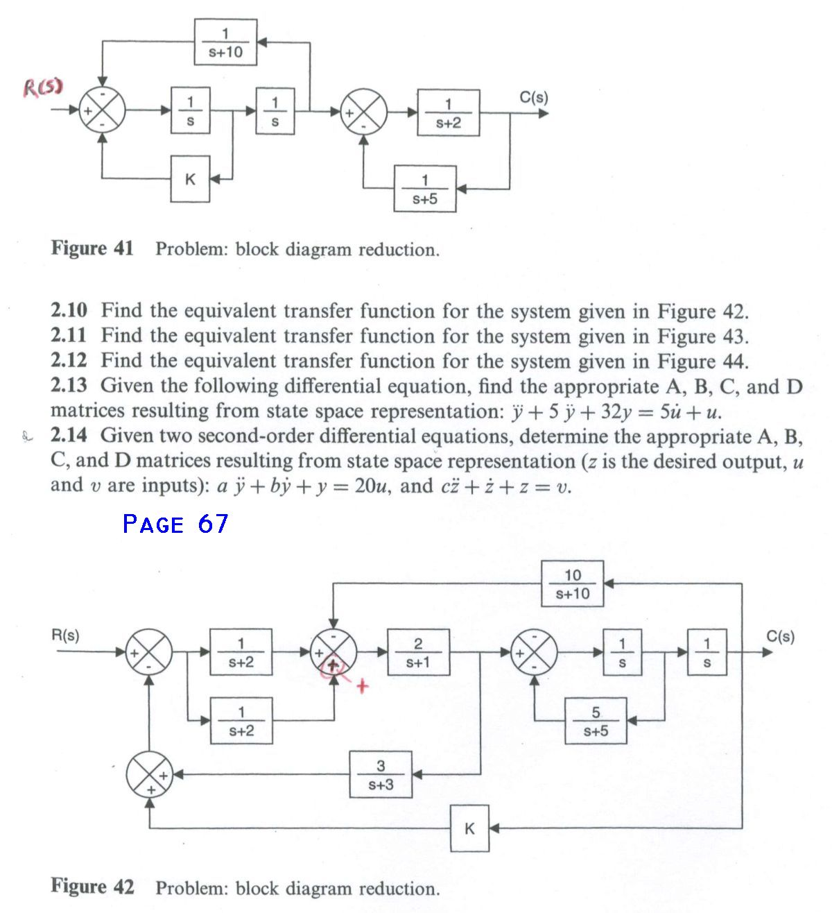 List Of Corrections Z Transform Transfer Function Block Diagram 67 Figure 41 Missing Rs On Input
