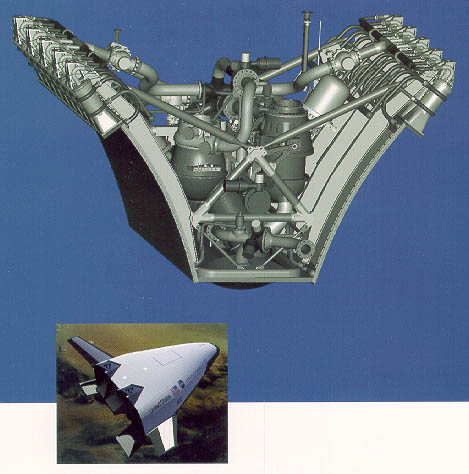 Xrs on Pressure Chamber Rocket Engine